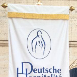 Fahne der Deutschen Hospitalité